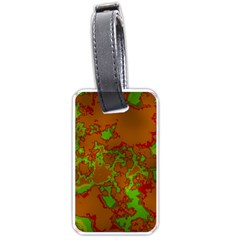 Unique Marbled Hot Luggage Tags (One Side)