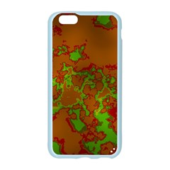 Unique Marbled Hot Apple Seamless iPhone 6/6S Case (Color)