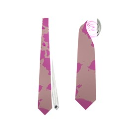 Unique Marbled Pink Neckties (Two Side)