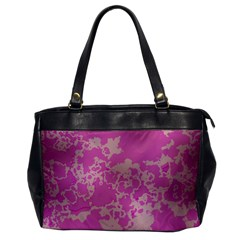 Unique Marbled Pink Office Handbags