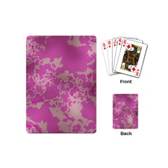 Unique Marbled Pink Playing Cards (Mini)