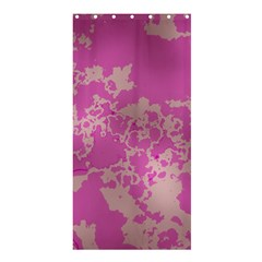 Unique Marbled Pink Shower Curtain 36  x 72  (Stall)