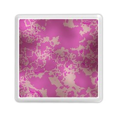 Unique Marbled Pink Memory Card Reader (Square)