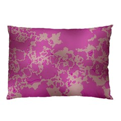 Unique Marbled Pink Pillow Cases (two Sides)