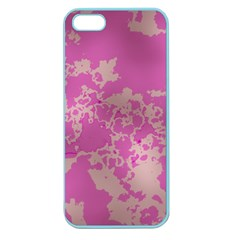 Unique Marbled Pink Apple Seamless iPhone 5 Case (Color)