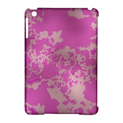 Unique Marbled Pink Apple iPad Mini Hardshell Case (Compatible with Smart Cover)