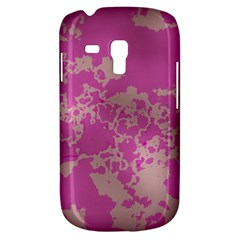 Unique Marbled Pink Samsung Galaxy S3 MINI I8190 Hardshell Case