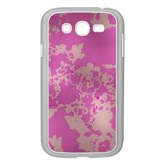 Unique Marbled Pink Samsung Galaxy Grand DUOS I9082 Case (White)