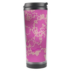 Unique Marbled Pink Travel Tumblers