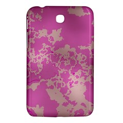 Unique Marbled Pink Samsung Galaxy Tab 3 (7 ) P3200 Hardshell Case