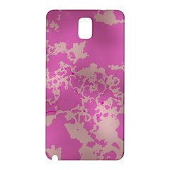 Unique Marbled Pink Samsung Galaxy Note 3 N9005 Hardshell Back Case