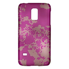 Unique Marbled Pink Galaxy S5 Mini