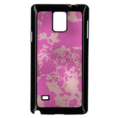 Unique Marbled Pink Samsung Galaxy Note 4 Case (black)