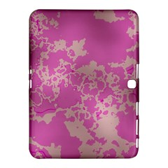Unique Marbled Pink Samsung Galaxy Tab 4 (10.1 ) Hardshell Case