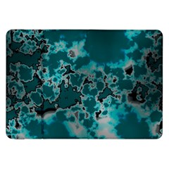Unique Marbled Teal Samsung Galaxy Tab 8 9  P7300 Flip Case