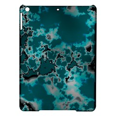 Unique Marbled Teal Ipad Air Hardshell Cases
