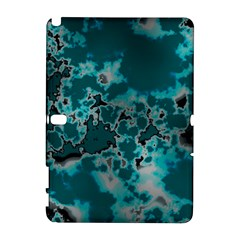 Unique Marbled Teal Samsung Galaxy Note 10 1 (p600) Hardshell Case