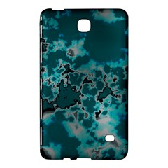 Unique Marbled Teal Samsung Galaxy Tab 4 (7 ) Hardshell Case