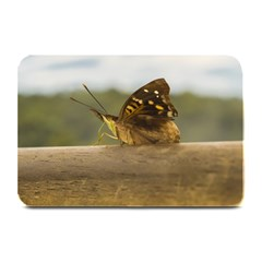 Butterfly against Blur Background at Iguazu Park Plate Mats
