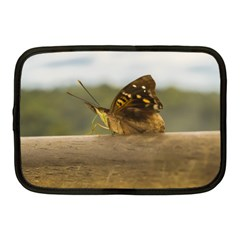 Butterfly against Blur Background at Iguazu Park Netbook Case (Medium)