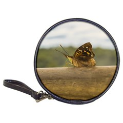 Butterfly against Blur Background at Iguazu Park Classic 20-CD Wallets