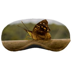 Butterfly against Blur Background at Iguazu Park Sleeping Masks