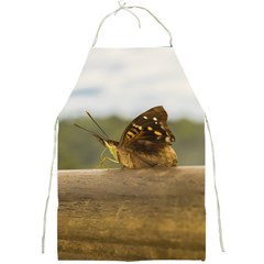 Butterfly against Blur Background at Iguazu Park Full Print Aprons