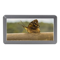 Butterfly against Blur Background at Iguazu Park Memory Card Reader (Mini)