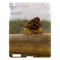 Butterfly against Blur Background at Iguazu Park Apple iPad 3/4 Hardshell Case