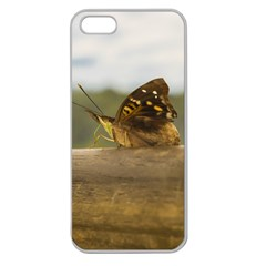 Butterfly against Blur Background at Iguazu Park Apple Seamless iPhone 5 Case (Clear)