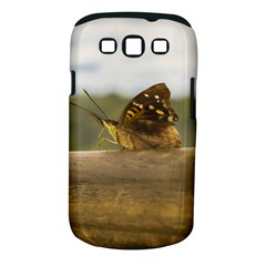 Butterfly against Blur Background at Iguazu Park Samsung Galaxy S III Classic Hardshell Case (PC+Silicone)