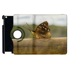 Butterfly against Blur Background at Iguazu Park Apple iPad 2 Flip 360 Case
