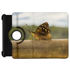 Butterfly against Blur Background at Iguazu Park Kindle Fire HD Flip 360 Case