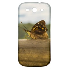Butterfly against Blur Background at Iguazu Park Samsung Galaxy S3 S III Classic Hardshell Back Case
