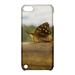 Butterfly against Blur Background at Iguazu Park Apple iPod Touch 5 Hardshell Case with Stand