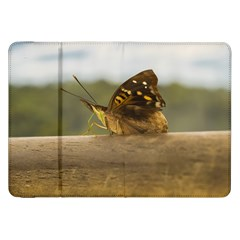 Butterfly against Blur Background at Iguazu Park Samsung Galaxy Tab 8.9  P7300 Flip Case