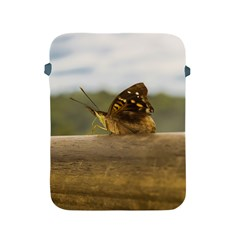 Butterfly against Blur Background at Iguazu Park Apple iPad 2/3/4 Protective Soft Cases