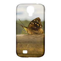 Butterfly against Blur Background at Iguazu Park Samsung Galaxy S4 Classic Hardshell Case (PC+Silicone)