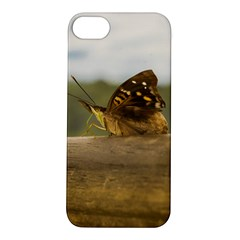 Butterfly against Blur Background at Iguazu Park Apple iPhone 5S Hardshell Case
