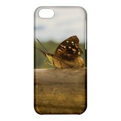 Butterfly against Blur Background at Iguazu Park Apple iPhone 5C Hardshell Case