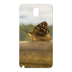 Butterfly against Blur Background at Iguazu Park Samsung Galaxy Note 3 N9005 Hardshell Back Case