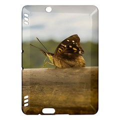 Butterfly against Blur Background at Iguazu Park Kindle Fire HDX Hardshell Case