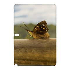 Butterfly against Blur Background at Iguazu Park Samsung Galaxy Tab Pro 10.1 Hardshell Case