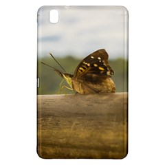 Butterfly Against Blur Background At Iguazu Park Samsung Galaxy Tab Pro 8 4 Hardshell Case