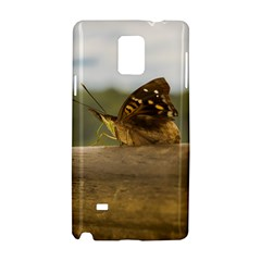 Butterfly against Blur Background at Iguazu Park Samsung Galaxy Note 4 Hardshell Case