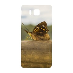 Butterfly against Blur Background at Iguazu Park Samsung Galaxy Alpha Hardshell Back Case
