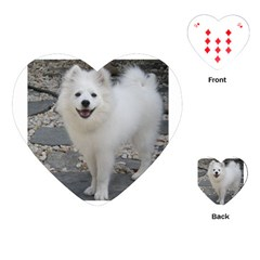 American Eskimo Dog Full Playing Cards (Heart)