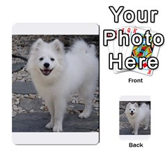 American Eskimo Dog Full Multi-purpose Cards (Rectangle)