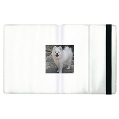 American Eskimo Dog Full Apple iPad 3/4 Flip Case