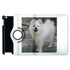 American Eskimo Dog Full Apple iPad 3/4 Flip 360 Case